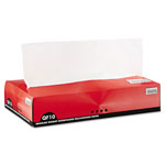Bagcraft QF10 Interfolded Dry Wax Paper, 10 x 10 1/4, White, 500/Box