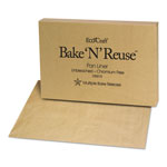 "Bagcraft Bake 'N' Reuse Pan Liner, 25""x17""x13"", Unbleached"