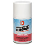 Big D Metered Concentrated Room Deodorant, Country Berry Scent, 7 oz Aerosol