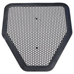 Big D Deo-Gard Disposable Urinal Mat, Charcoal, Mountain Air, 17 1/2 x 20 1/2
