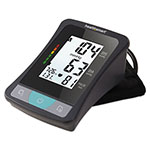 HealthSmart® Select Automatic Arm Digital Blood Pressure Monitor w/AC Adapter, Adult, Black
