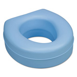 "DMI Furniture Deluxe Plastic Toilet Seat Cushion, 5"", Blue"