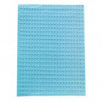 "Tidi Products 917463 Blue 2-Ply Poly Back Patient Bibs, 13"" x 18"""