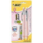 Bic Pink Ribbon ReAction Mechanical Pencil, 0.7mm