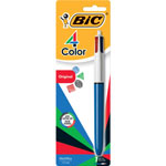 Benchmark Graphics Ballpoint Pen, Medium/Fine Pt, 4 Ink Colors, AST