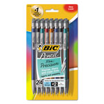 Bic Mechanical Pencil, w/Pocket Clip, .5mm, Assorted