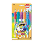 Bic Mechanical Pencil, Foam Grip, .9mm, Assorted