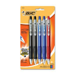 Bic Ballpoint Pen, Retractable, Medium Point, Assorted