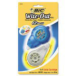 Bic EZ Correction Tape Refill, 45ft, 2 per Pack