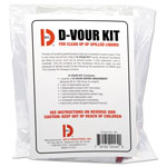 Big D D'Vour Clean Up Kit, Follows OSHA Guidelines