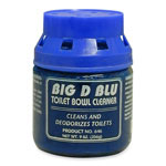 Big D Bowl Cleaner, Deodorizes, Nontoxic/Biodegradable, Blue