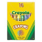 Binney and Smith Classic Color Crayons in Tuck Box
