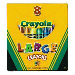 Binney and Smith Large Crayola Crayons