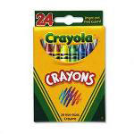 Binney and Smith Classic Color Pack Nontoxic Crayons, 24 Colors