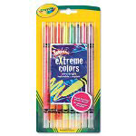 Binney and Smith Twistable Crayons, 8 Neon Colors/Set