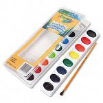 Binney and Smith Washable Watercolors, 4.9 oz Assorted