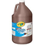 Binney and Smith Washable Paint, 1 Gallon, Brown