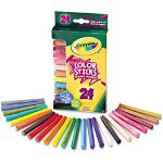 Binney and Smith Woodless Color Pencils, Assorted, 24/Pack