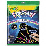 Binney and Smith Close Color Explosion Neon Kit, 20/Pack