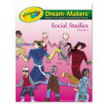 Binney and Smith Guide, Grades K 6, Social Studies, 104 Pages