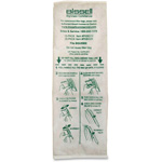 Bissell Disposable Vacuum Bag, Sealed Filter Bag System, 10/PK, White