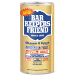 Bar Keepers Friend Powdered Cleanser And Polish, 12 Oz Can, 12/carton