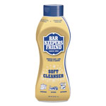 Bar Keepers Friend Soft Cleanser, 26 oz Squeeze Bottle, Citrus, 6/Carton