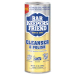 Bar Keepers Friend Powdered Cleanser and Polish, 21 oz Can, 12/Carton