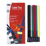 Belkin F8B024 Multicolored Cable Ties, 6 Pack