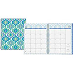 "Blue Sky Boca Planner Weekly/Monthly, 8-1/2"" x 11"", 12 Months July-June"