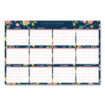 Blue Sky Day Designer Laminated Wall Calendar, 36 x 24, 2019