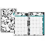 "Blue Sky Barcelona Weekly/Monthly Planner, 2ppw, 12 Months, 5"" x 8"", Multi"