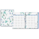 "Blue Sky Weekly/Monthly Lindley Planner, 2ppw, 12 Months, 8-1/2"" x 11"", MI"