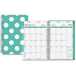 "Blue Sky Penelope Weekly/Monthly Planner, 2ppw, 12 Months, 5"" x 8"", MI"