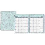 Blue Sky Rue Du Flore Large Frosted Planner, 2ppw, 12 Months, MI