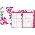 Blue Sky Dahlia Samll Frosted Planner, 2pp, . 12 Months, 2ppm, 12 Months, MI