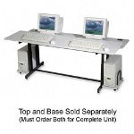 Balt Split Level Computer Training Table, 72 x 36, Base Component, Black