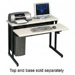 "Balt 89491 Smart One 42"" Ergonomic Training Table, Top w/One Keyboard Platform, Gray"