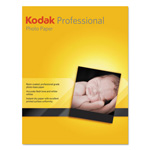 Kodak Professional Inkjet Photo Paper, Luster, 255 g, 8-1/2 x 11, White, 50 Sheets/Box