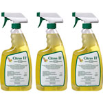 Beaumont Citrus II Germicidal Cleaner, Spray Bottle, 22 oz, 3/PK