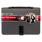 Bond Street Tablet Case/Organizer with Writing Pad, Charcoal