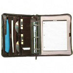 Bond Street Bond Street Witing Case and Organizer, 3-Ring Binder, Red