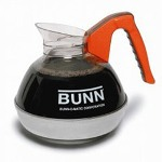 Bunn-O-Matic Coffee Decanter, Orange Handle (Decaf) 12 Cup