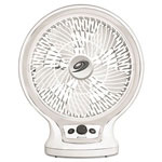 Holmes Personal Fan, 2-Speed, White