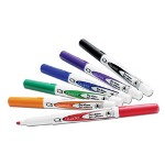Boone Dry Erase Markers, Bullet Point, 6/Pack, Assorted Colors