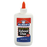 Elmer's School Glue, Washable, 7 5/8oz. bottle, Dries Clear