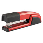 Stanley Bostitch Antimicrobial Full Strip Metal Stapler, Red