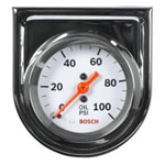 "Bosch Group 2"" Mechanical Oil Pressure Gauge"