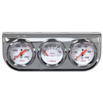 "Bosch Group 2"" Triple Meter PSI, Temperature & Volt"