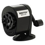 "Stanley Bostitch Black 8 Hole Manual Pencil Sharpener, 2 1/2"" x 5 1/2"" x 4 1/4"""